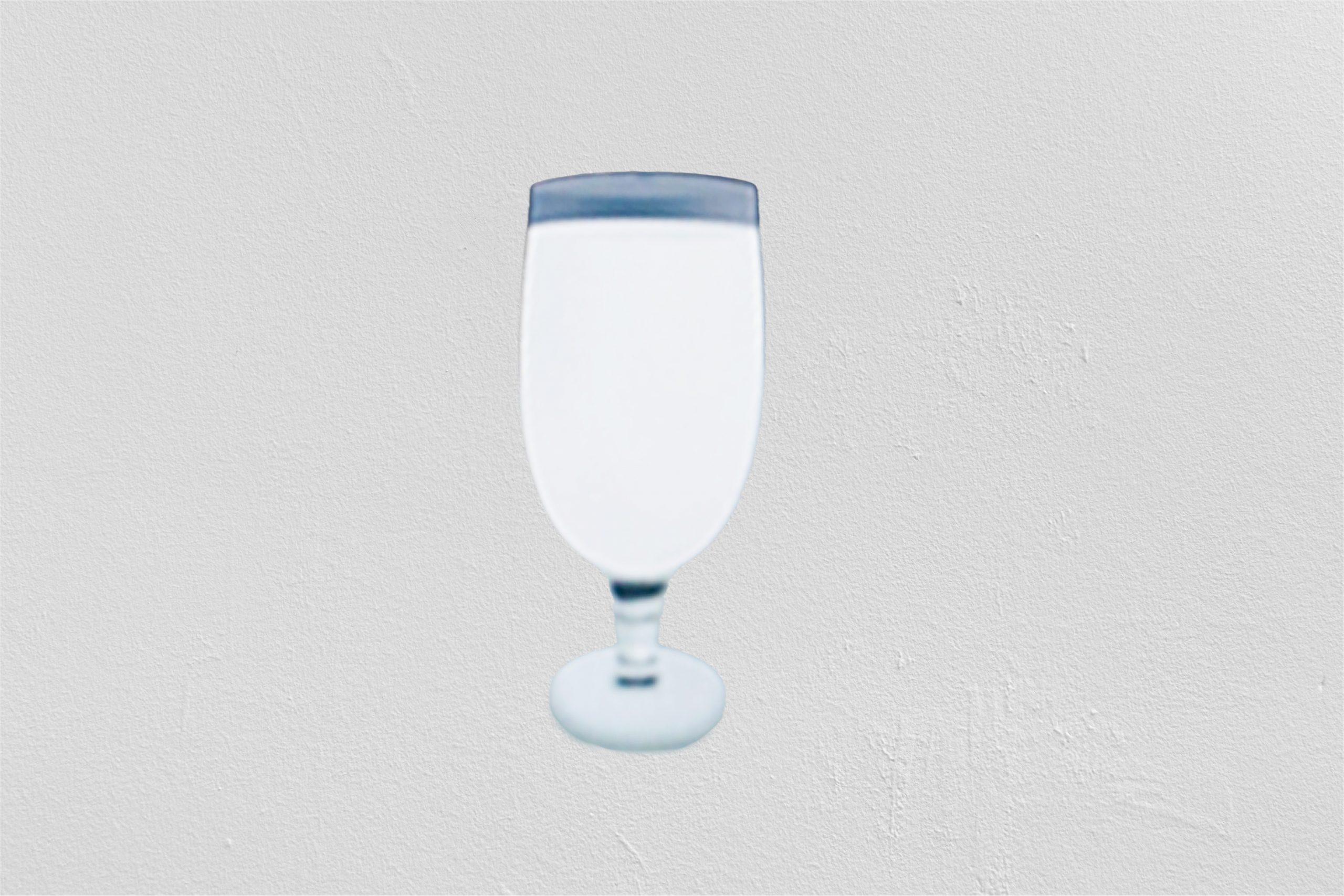 Illustration d'une coupe de vin en 3D