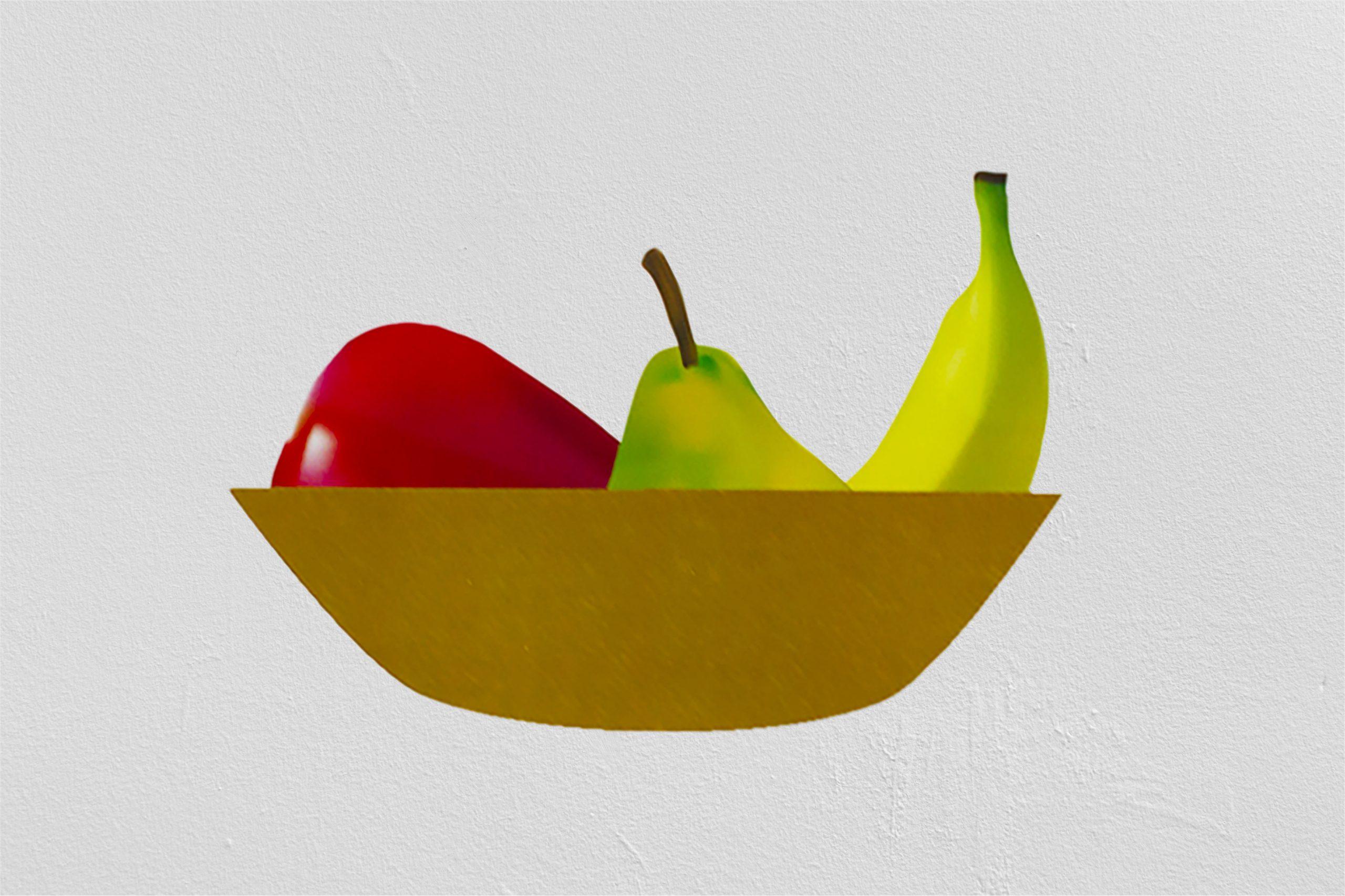 Illustration d'un panier de fruits