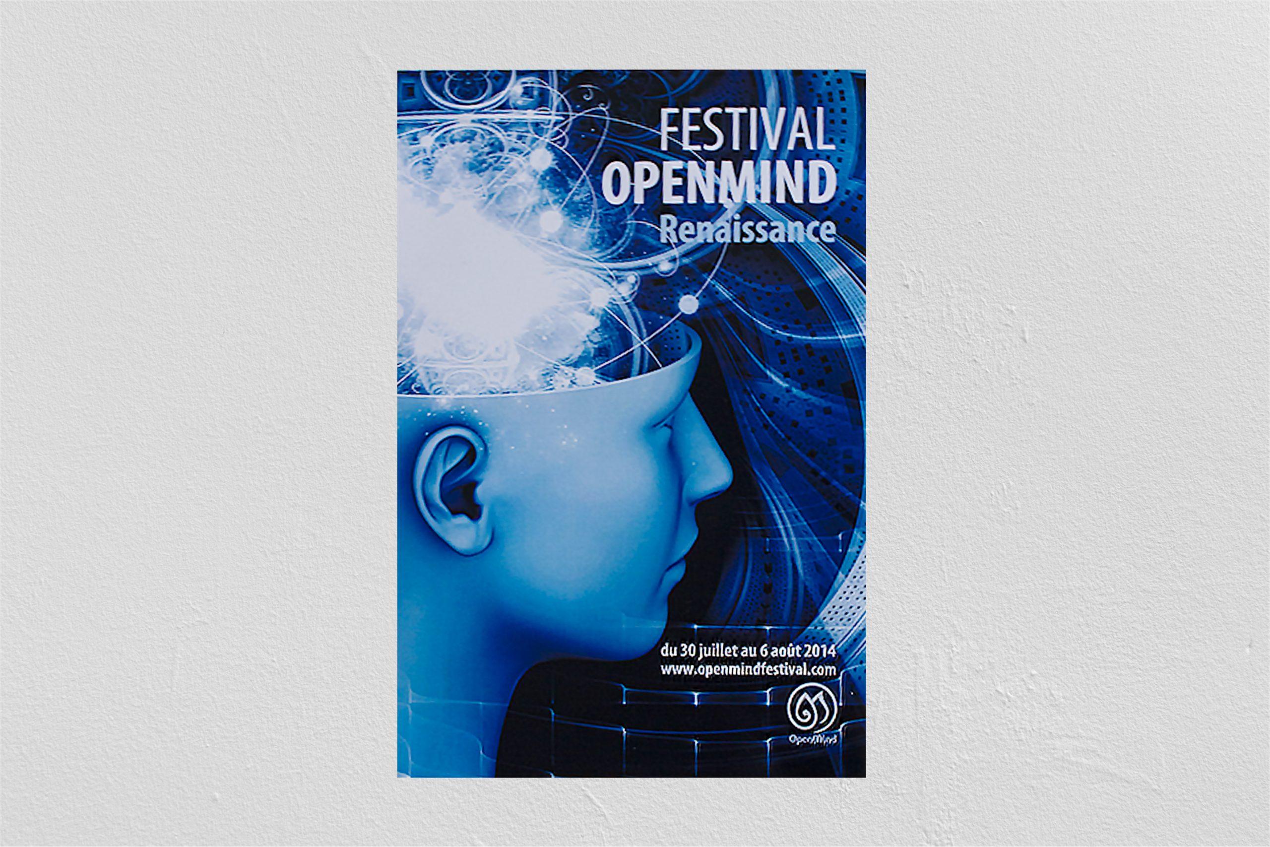 Projet étude pour le Festival Openmind