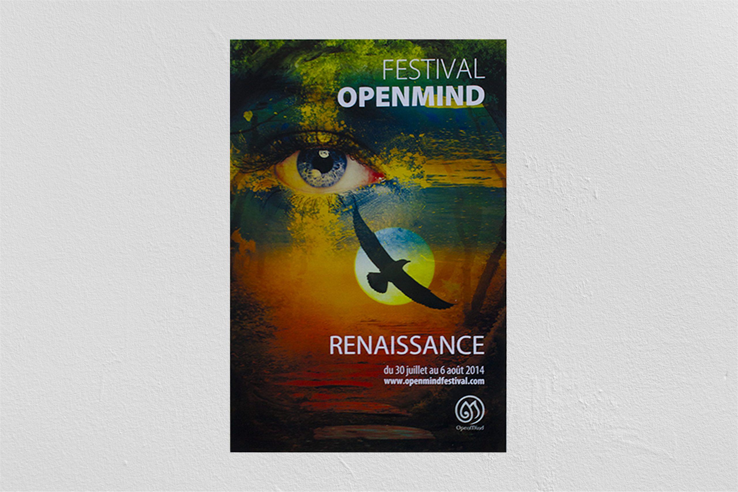 Projet d'études pour le Festival Openmind