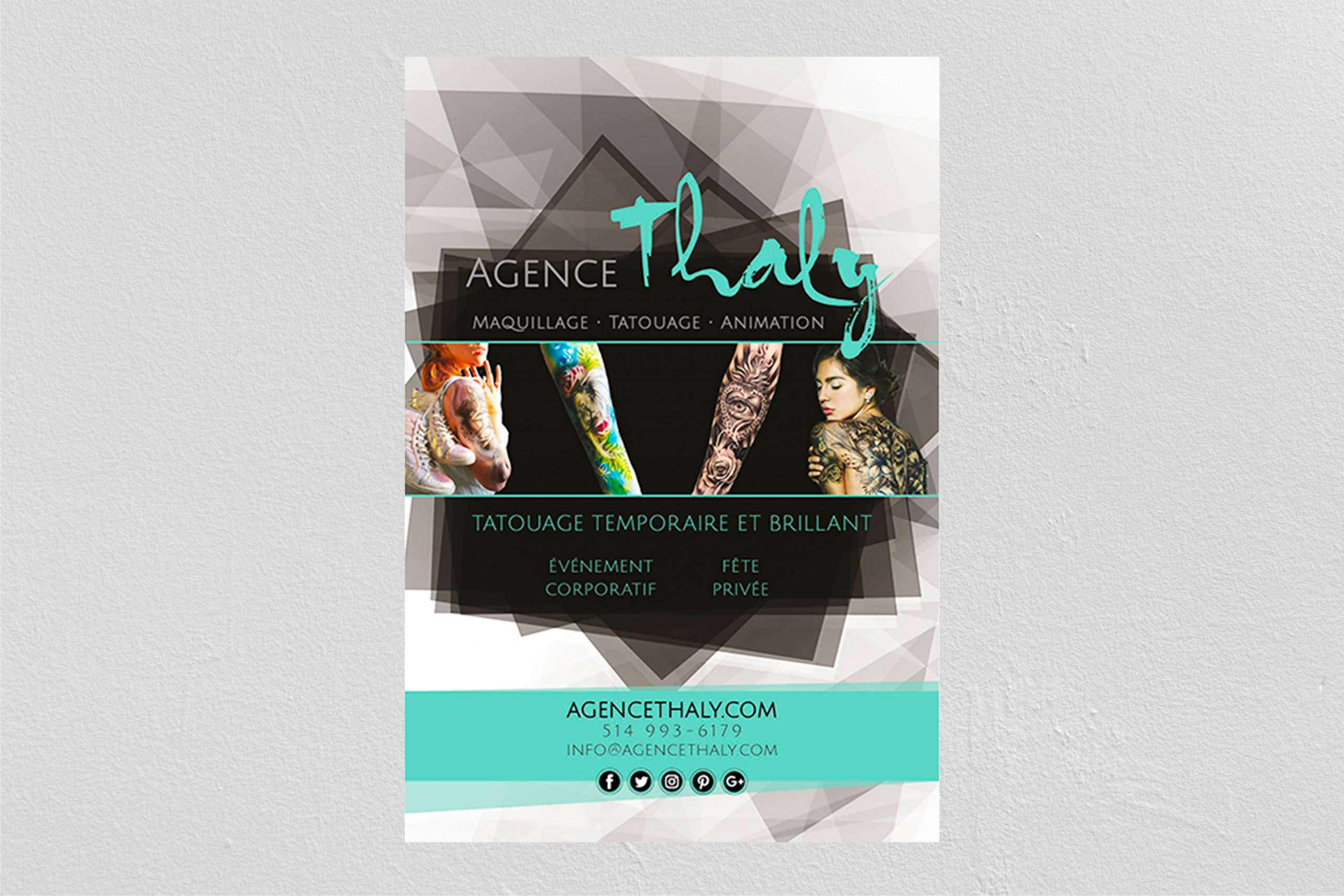 Affiche Agence Thaly