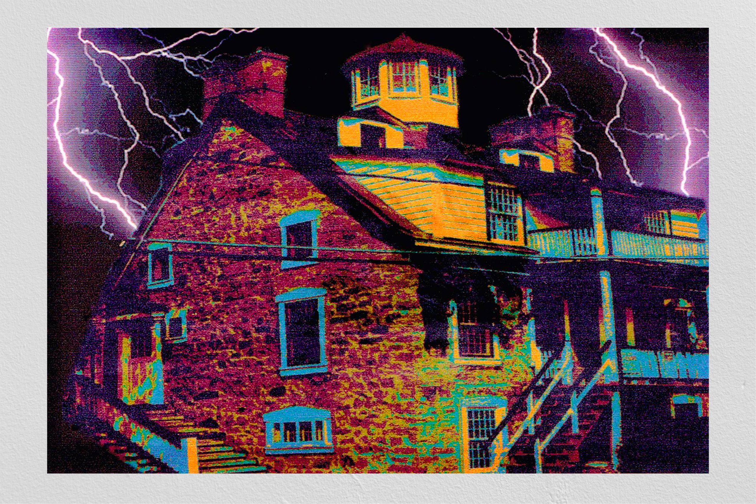 Maison coloriée dans Photoshop