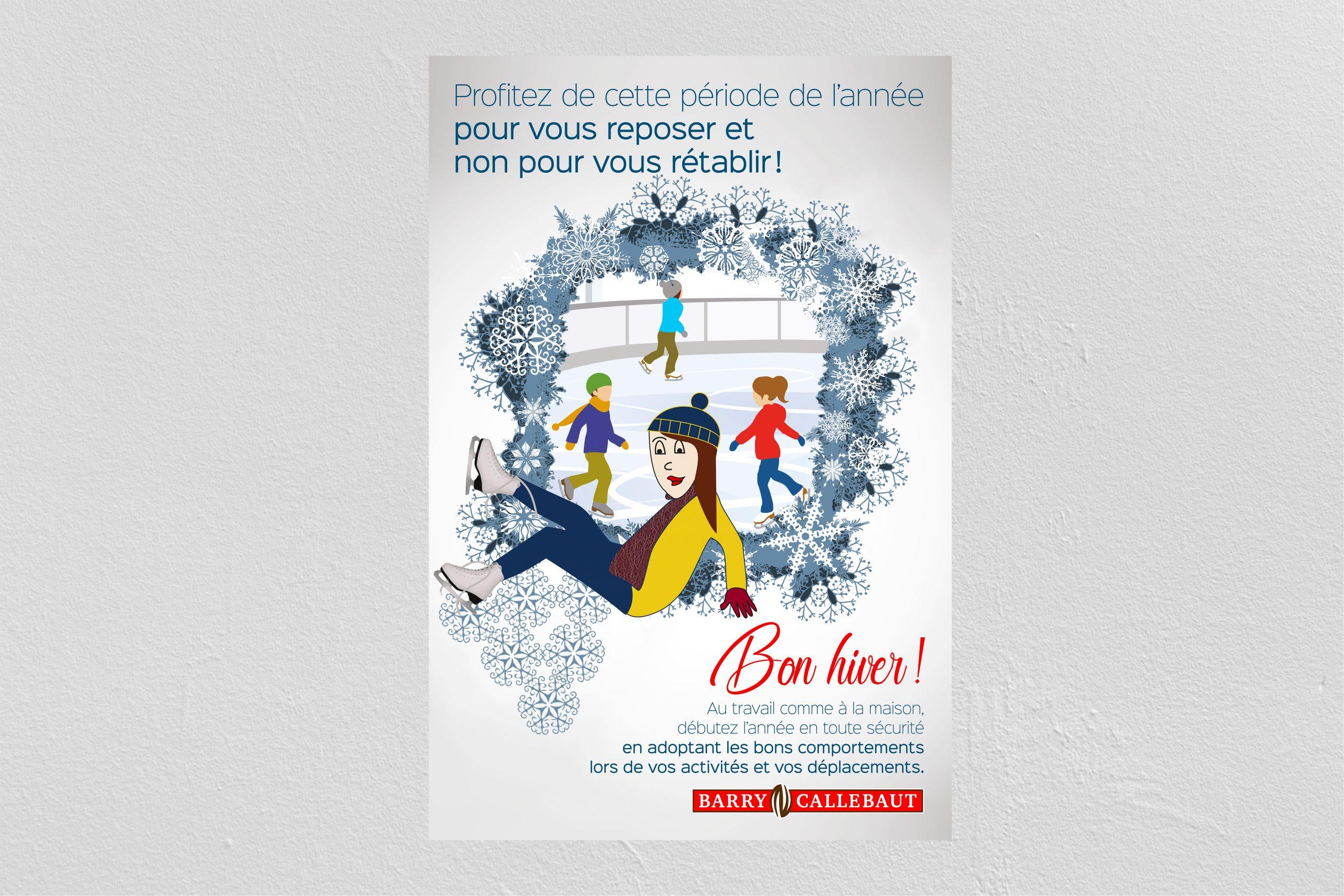 Publicité cartoon sur les bons comportements